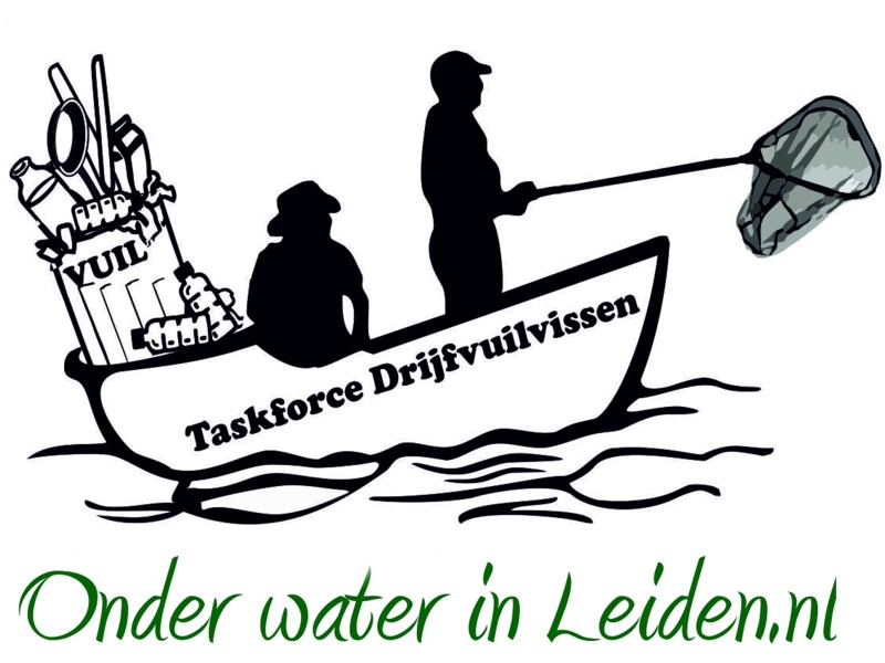 taskforce-drijfvuilvissen onder-water-in-leiden